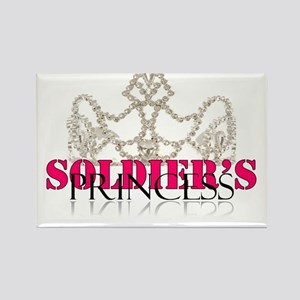 Soldier princess Rectangle Magnet