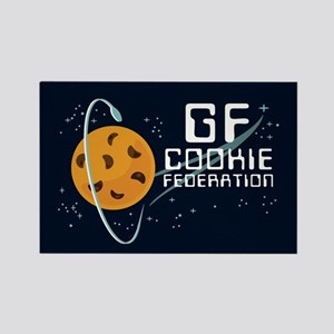 GF Cookie Federation Rectangle Magnet
