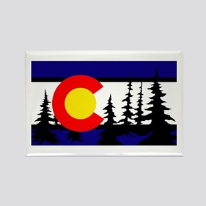 Colorado Rectangle Magnet