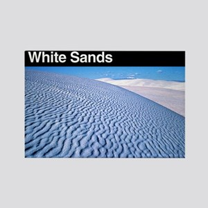 White Sands NM Rectangle Magnet
