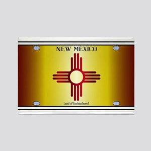 New Mexico Flag License Plate Magnets