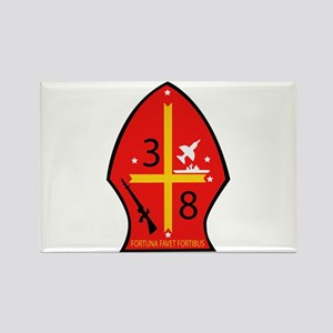3rd Battalion - 8th Marines Rectangle Magnet