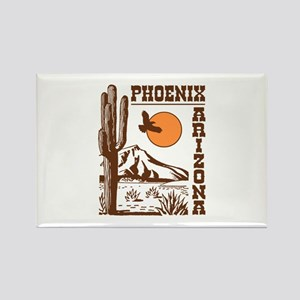 Phoenix Arizona Rectangle Magnet