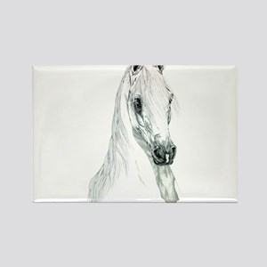 Arabian Spirit Horse Art Rectangle Magnet