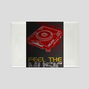 Pioneer CDJ Feel The Music Rectangle Magnet