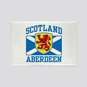 Aberdeen Scotland Rectangle Magnet
