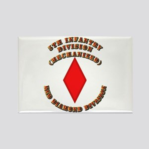 Army - Division - 5th Infantry Rectangle Magnet