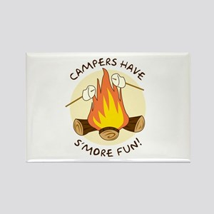 """S'more Fun"" Rectangle Magnet"