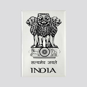 Emblem of India Rectangle Magnet