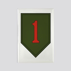 1st Infantry Division Rectangle Magnet