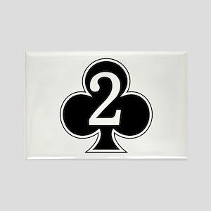 2-327 Infantry Rectangle Magnet