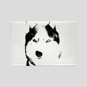 Husky Gifts Bi-Eye Husky Shirts & Gifts Rectangle