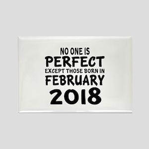 February 2018 Birthday Designs Rectangle Magnet