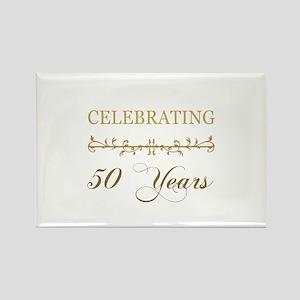 Celebrating 50 Years Rectangle Magnet