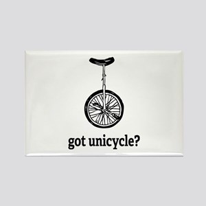 Got unicycle? Rectangle Magnet