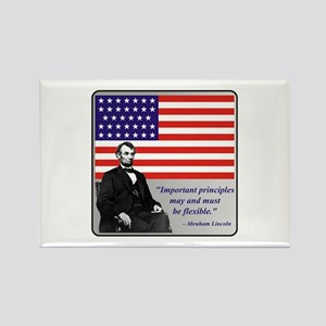 Lincoln Rectangle Magnet