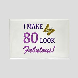 I Make 80 Look Fabulous! Rectangle Magnet