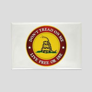DTOM Gadsden Flag (logo) Magnets