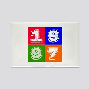 1997 Birthday Designs Rectangle Magnet