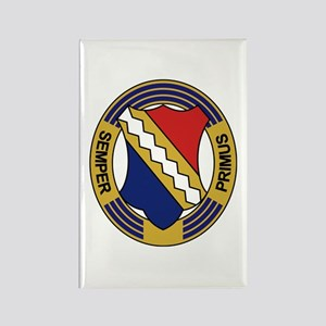1st Infantry Regiment Rectangle Magnet