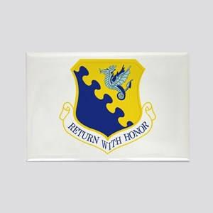 31st Fighter Wing Rectangle Magnet