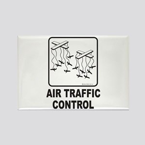 Air Traffic Control Rectangle Magnet