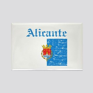 Alicante flag designs Rectangle Magnet