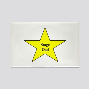 Stage Dad Rectangle Magnet