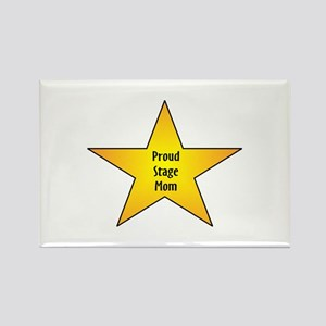 Proud Stage Mom Rectangle Magnet