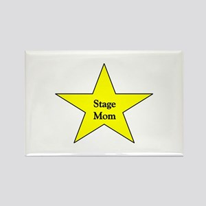 Stage Mom Rectangle Magnet