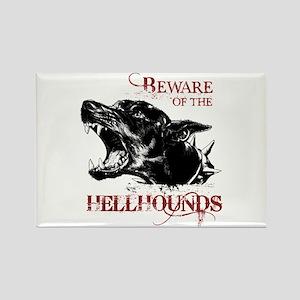 SUPERNATURAL Hellhound Rectangle Magnet