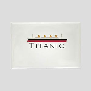 Titanic Rectangle Magnet