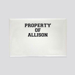 Property of ALLISON Magnets
