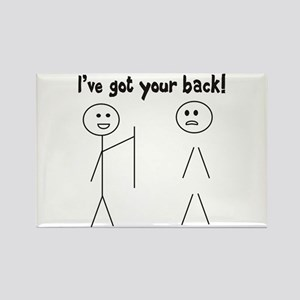 Got Your Back! Rectangle Magnet