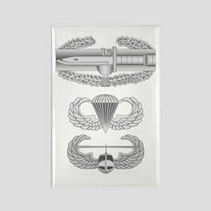 CAB Airborne Air Assault Rectangle Magnet