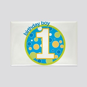 first birthday boy t-shirts Rectangle Magnet
