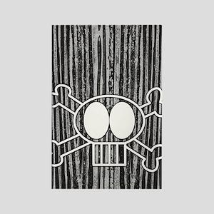 skullcrossbones itouch4 Rectangle Magnet