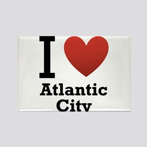 I Love Atlantic City Rectangle Magnet