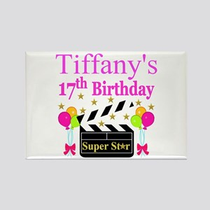 PERSONALIZED 17TH Rectangle Magnet
