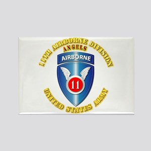 Army - 11th Airborne Division Rectangle Magnet
