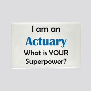 actuary Rectangle Magnet
