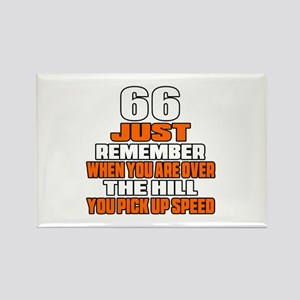 66 Just Remember Birthday Designs Rectangle Magnet