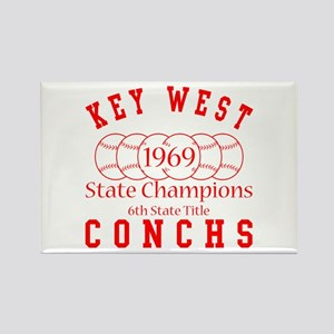 1969 Key West Conchs State Champions. Rectangle Ma