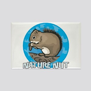 Nature Nut Rectangle Magnet
