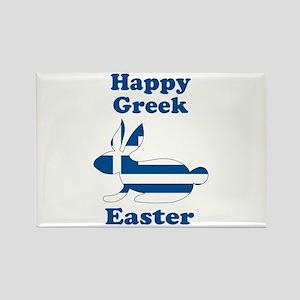 Greek Easter Rectangle Magnet