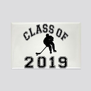 Class Of 2019 Hockey Rectangle Magnet