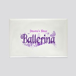 Personalize Your Ballerina Rectangle Magnet