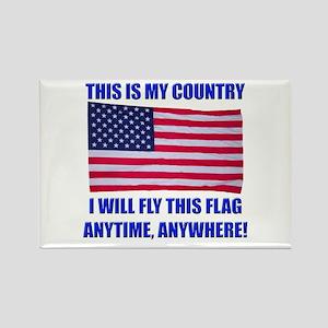 Flag2a Rectangle Magnet