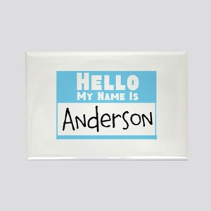 Personalized Name Tag Rectangle Magnet