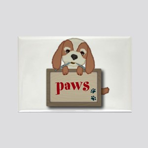 Customisable Cute Puppy Dog with Signboard Magnets